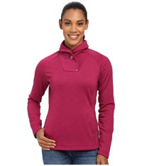 Spyder Manta Fleece Top Wild Women's Long Sleeve Pullover Multi