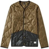 Denim By Vanquish And Fragment Liner Down Jacket Green