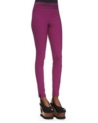Stella Mccartney Zip Ankle Leggings Hyacinth