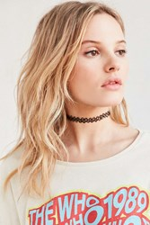 Urban Outfitters Tattoo Choker Necklace Black