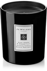 Jo Malone London Dark Amber And Ginger Lily Scented Home Candle Colorless