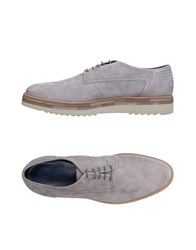 Alberto Guardiani Lace Up Shoes Light Grey