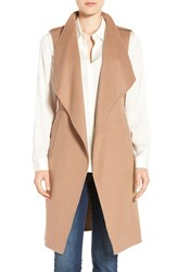 Soia And Kyo Women's Double Face Wool Blend Vest Honey