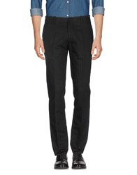 Tom Rebl Casual Pants Black