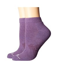 Carhartt Force Extremes Low Cut 2 Pack Purple Low Cut Socks Shoes