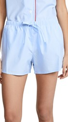 Sleepy Jones Paloma Pj Shorts Blue