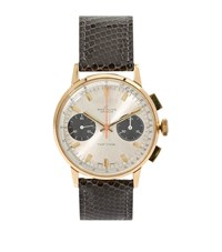 Hodinkee Breitling Top Time 2001 Yellow Gold 35Mm Watch Unisex