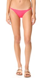 Solid And Striped The Morgan Bikini Bottoms Neon Red