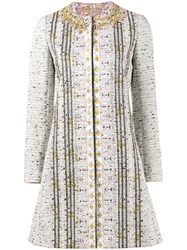 Giambattista Valli Embroidered Tweed Coat
