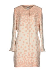 Cinzia Rocca Coats And Jackets Overcoats Light Pink