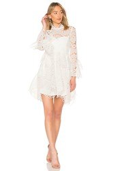 Thurley Leo Embroidered Dress White