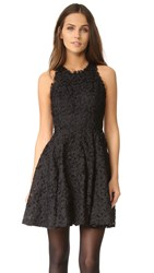 Ali And Jay Textured Lace Racer Back Dress Black