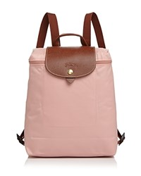 Longchamp Le Pliage Backpack Pinky Gold