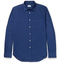 Hartford Paul Cotton Shirt Blue