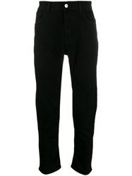 Haikure Loose Fit Denim Jeans Black