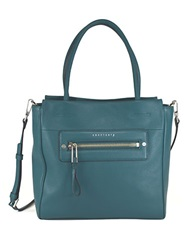 Sanctuary Leather Tote Tapestry