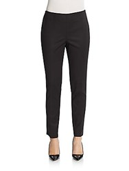 Vince Camuto Side Zip Stretch Cotton Pants Black