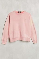 Urban Renewal Vintage Polo Pink Sweatshirt Assorted
