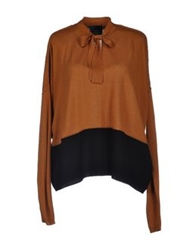 Hotel Particulier Sweaters Camel