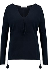 Autumn Cashmere Baja Sweater Navy