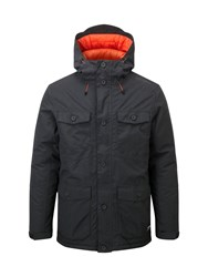 Tog 24 Men's Drift Mens Milatex 3In1 Parka Jacket Black