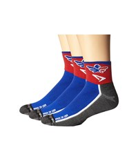 Drymax Sport Lite Trail Running 1 4 Crew 3 Pack Team Rwb Crew Cut Socks Shoes Blue