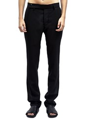 Rick Owens Skinny Long Tailored Pants Black