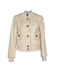 Le Sentier Coats And Jackets Fur Outerwear Women