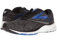 Brooks Launch 4 Black Anthracite Electric Blue Men's Running Shoes
