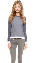 Rag And Bone Brenda Crew Pullover Black