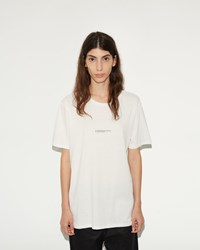 Phoebe English All Proportions T Shirt White With Black Print