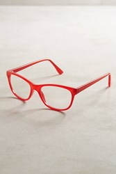 Anthropologie Sophie Reading Glasses Red