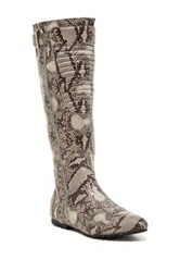 Penny Loves Kenny Calf Matte Tall Boot Gray