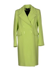 Marco Bologna Coats Acid Green