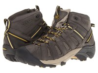 Keen Voyageur Mid Raven Tawny Olive Men's Hiking Boots Gray