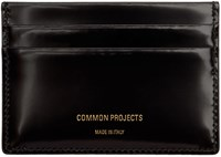 Common Projects Woman By Black Patent Multi Card Holder