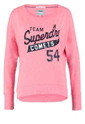 Superdry Long Sleeved Top Fluro Pink