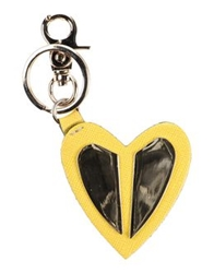 Coccinelle Key Rings Yellow