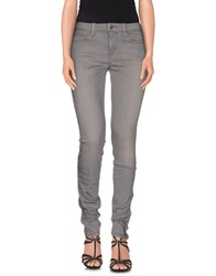 Joe's Jeans Denim Denim Trousers Women Grey