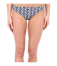 Sperry Island Time Ikat Reversible Hipster Midnight Women's Swimwear Navy