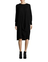 Dkny Solid Cocoon Dress Black