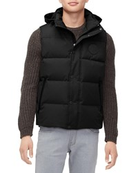Ugg Nathaniel Waterproof Hooded Vest Black