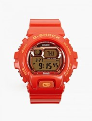 Casio Red Gb X6900b 4Er Xl Bluetooth Watch
