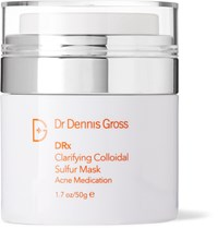 Dr. Dennis Gross Skincare Clarifying Colloidal Sulfur Mask 50G Colorless