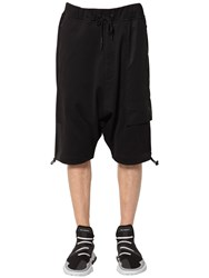 Y 3 Fit Cotton Baggy Shorts