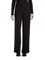 Splendid Wide Leg Silk Pants Black