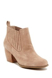 Restricted Warwick Suede Bootie Beige