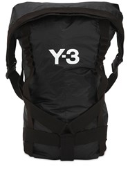 Y 3 Itech Techno Backpack Black