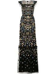 Needle And Thread Embellished Maxi Dress Black