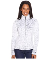 Obermeyer Tess Fleece Jacket Ice Leopard Women's Coat